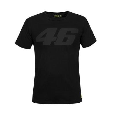 Tee-shirt Core noir ton sur ton
