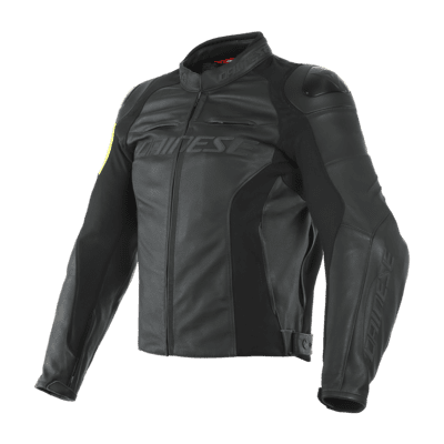 VR46 Pole Position Leather Jacket
