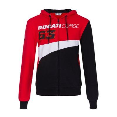 Sweat Bagnaia Ducati - Rouge
