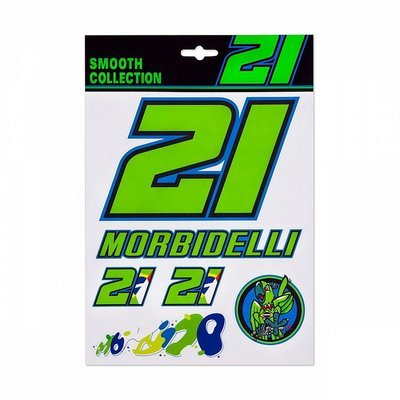 Morbidelli 21 stickers