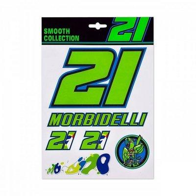 Autocollants Morbidelli 21