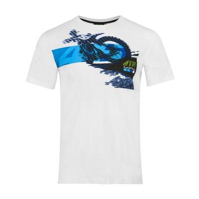 Tee-shirt Motorbike 46 GoPro - Blanc