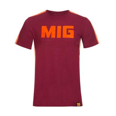 Mig 16 t-shirt - Bordeaux
