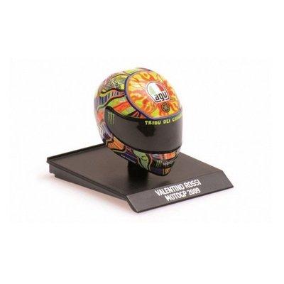 2009 MotoGP season 1/10 helmet - Multicolor