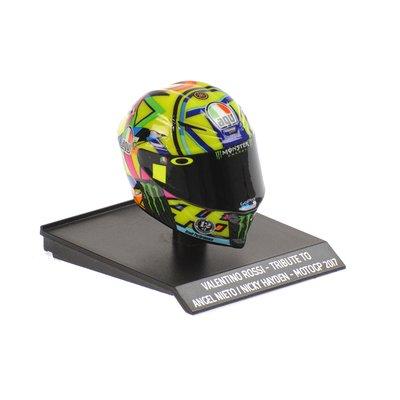 Helm 1/10 MotoGP 2017 Tribut an Angel Nieto und Nicky Hayden
