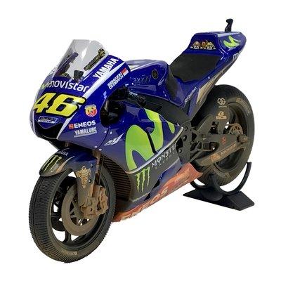 Yamaha YZR-M1 1:12 Valentino Rossi GP Malaysia 2017