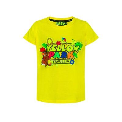 T-shirt Yellow Park Tavullia bambino