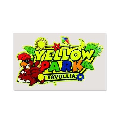 Adesivo Yellow Park Tavullia