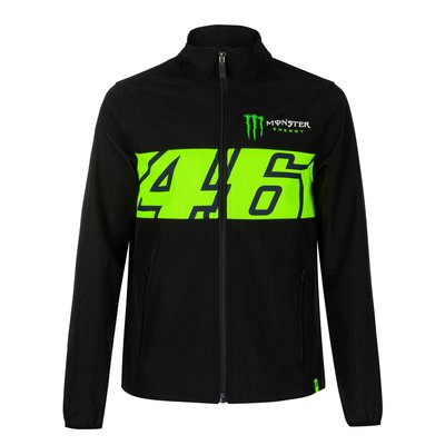 Dual 46 Monster Energy jacket - Black