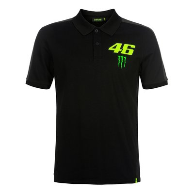 46 Monster polo - Black