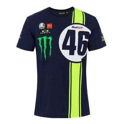 Kurzarm T-Shirt Abu Dhabi 46 Replikat - Blau