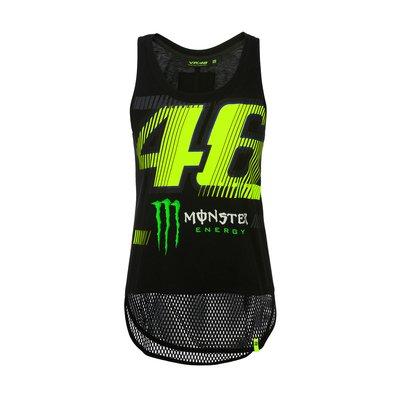 Achselshirt Monza 46 Monster Damen - Schwarz