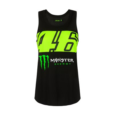 Canotta Dual 46 Monster Energy donna - Nero
