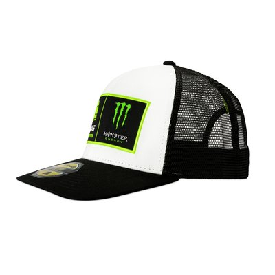 VR46 Riders Academy Monster mid visor trucker cap