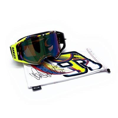 Airbrake MX Valentino Rossi Signature Series Goggles Limitierte Auflage handsigniert