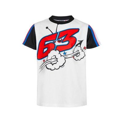 Tee-shirt pour enfant Pecco 63 - Blanc