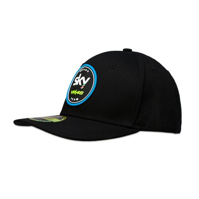 Cappellino replica Sky Racing Team VR46 - Nero