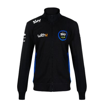 Sweatshirt Replik Sky Racing Team VR46 - Schwarz