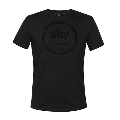T-shirt lifestyle Sky Racing team VR46 - Grigio Scuro