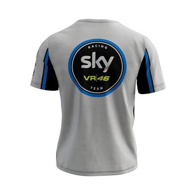 Valentino Rossi VR46 Sky Racing Team Moto3 GP Kids Black T-shirt Official 2019