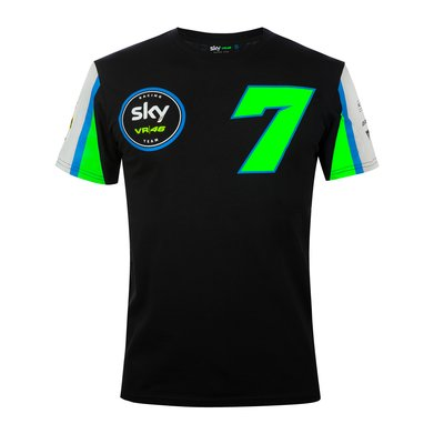 Sky Racing Team VR46 Foggia replica t-shirt - Black