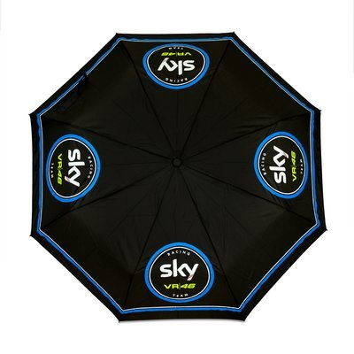 Small Sky Racing Team VR46 Umbrella - Black