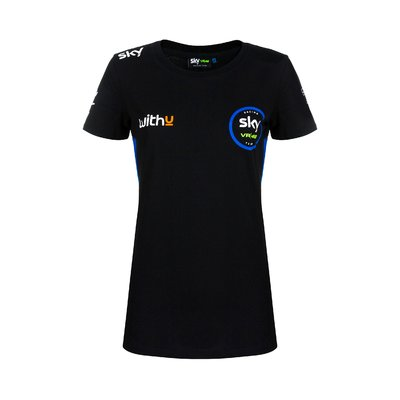 Woman Sky Racing Team VR46 replica race t-shirt
