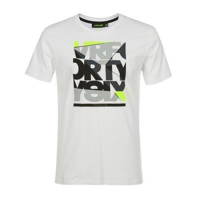 Tee-shirt blanc VRFORTYSIX