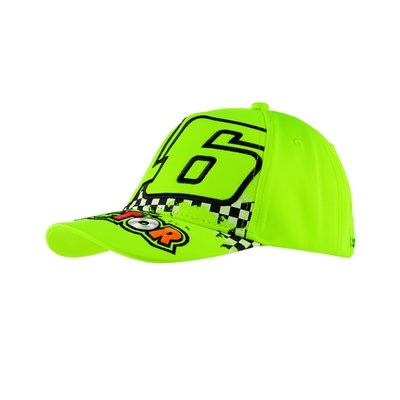 Kid 46 Doctor cap - Yellow Fluo