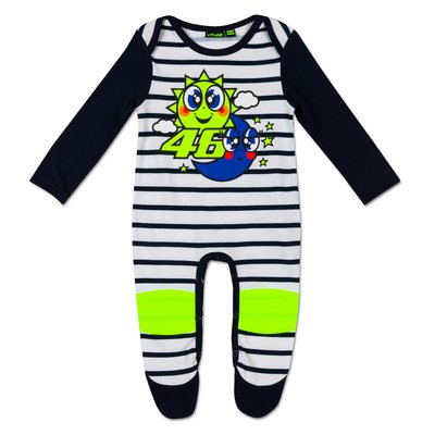 Baby sun and moon overall - Multicolor