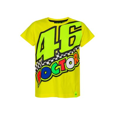 Kid 46 Doctor t-shirt - Yellow