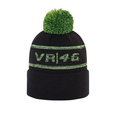 VR46 New Era bubble beanie cap