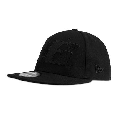 New Era Core tone on tone adjustable cap black