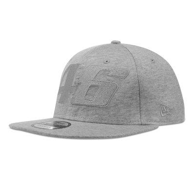 New Era Core tone on tone adjustable cap grey