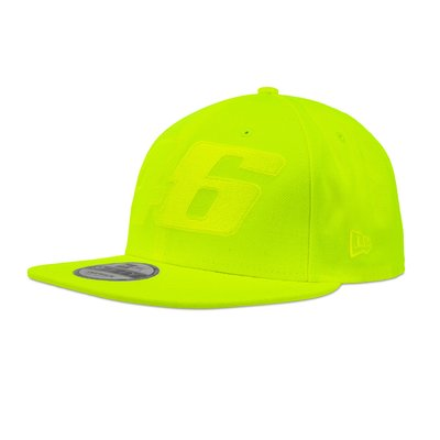 Cap Core tono su tono giallo fluo New Era