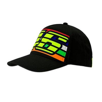 Cap stripes 46 nero