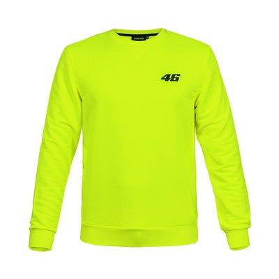 Sweatshirt Core Large 46 Neongelb