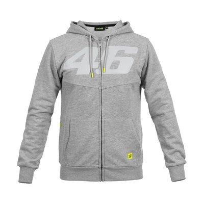 Sweatshirt Core 46 Ton in Ton Grau