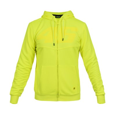 Core 46 tone on tone sweatshirt fluo - Yellow Fluo