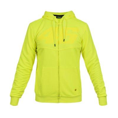 Sweatshirt Core 46 Ton in Ton Neongelb