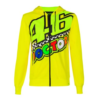 Swear-shirt 46 Doctor - Jaune