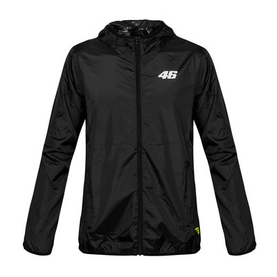 Core raincoat black