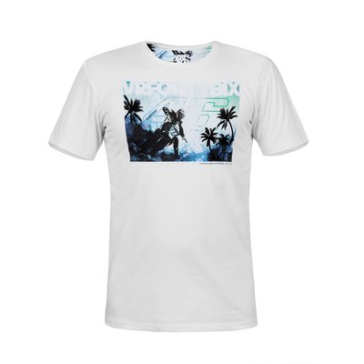 Tropical VR46 t-shirt - White