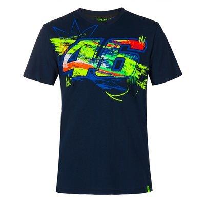 T-shirt Winter test - Bleu