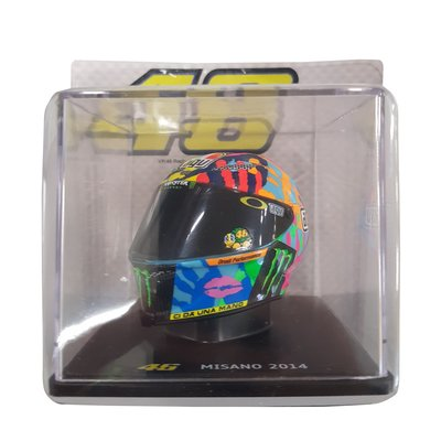 Casque 1/5 Misano GP 2014 - Multicolor