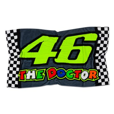 46 The Doctor beach towel