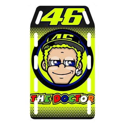 Replica pit board 46 The Doctor