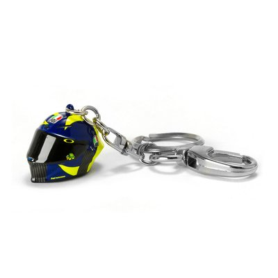 3D helmet key ring