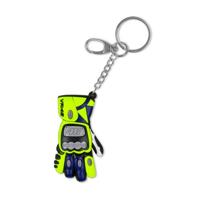 3D glove key ring