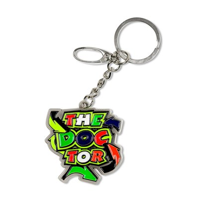 Porte-clés The Doctor Street Art Valentino Rossi MotoGP - Multicolor